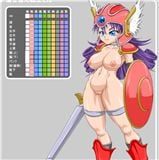 DQ3 Warrior Dress Up DQ3「着せ替え戦士さん」