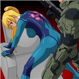 Samus VS Chief samus-chief