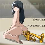 Reina plays the TRUMPet