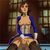 BioShock Hentai porno grande bottino Dick ride