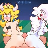 Bowsette & Boosalina Butt Bounce!